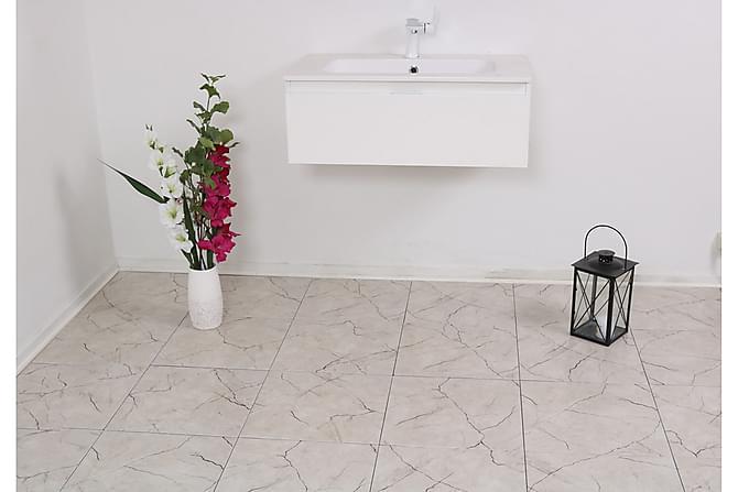 Gulvflis Atlas Cream 40x40 - Veggfliser & gulvfliser - Gulvfliser - Marmorgulvfliser