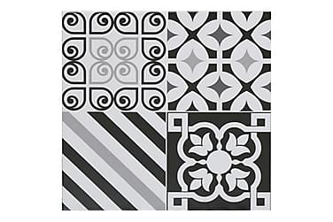 Gulvflis Life Black And White 50x50