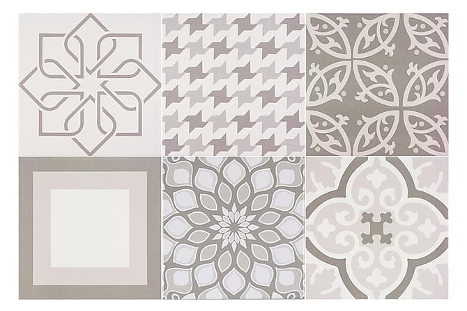 Gulvflis Topkapi Grey 20x20 - Veggfliser & gulvfliser - Gulvfliser - Mønstrede gulvfliser