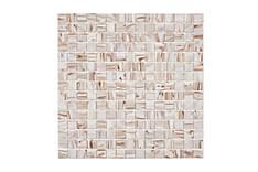 Glassmosaikk Bone Gold 32,7X32,7
