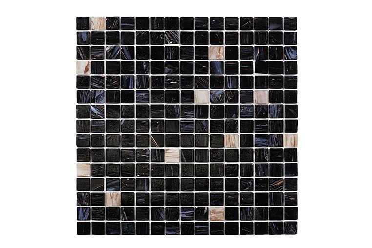Glassmosaikk Dark Heaven White Gold 32,7X32,7