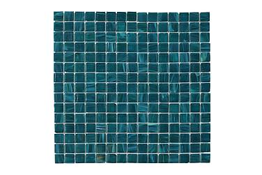 Glassmosaikk Petrol Mix 32,7X32,7