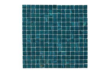 Glassmosaikk Petrol Mix 32,7X32,7