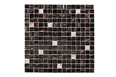 Mosaikk Brun White Touch 32,7X32,7