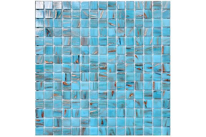 Mosaikk Peacock 32,7X32,7 - Veggfliser & gulvfliser - Mosaikk - Glassmosaikk