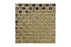 Krystallmosaikk Glow Gold 30X30