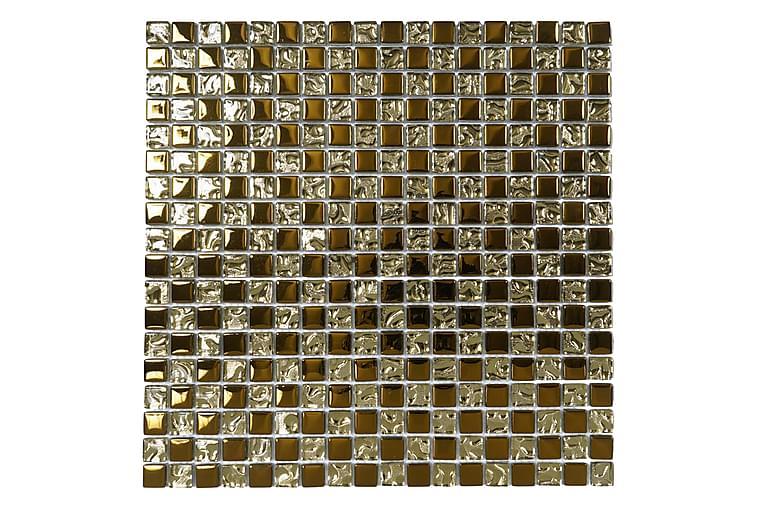 Krystallmosaikk Gold 30X30
