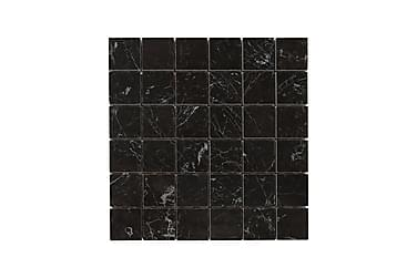 Mosaikk Carrara Black 30X30