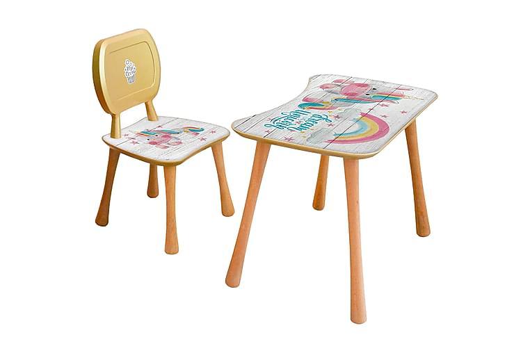 Kid's Table Set Multifarget - Møbler - Barnemøbler - Barnebord