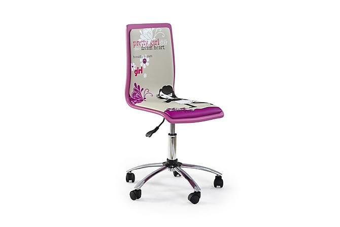 Fun Skrivebordsstol - Rosa - Møbler - Barnemøbler - Barnestol
