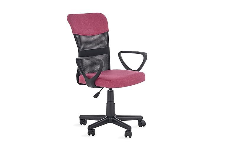 Timmy Skrivebordsstol - Rosa/Svart - Møbler - Barnemøbler - Barnestol