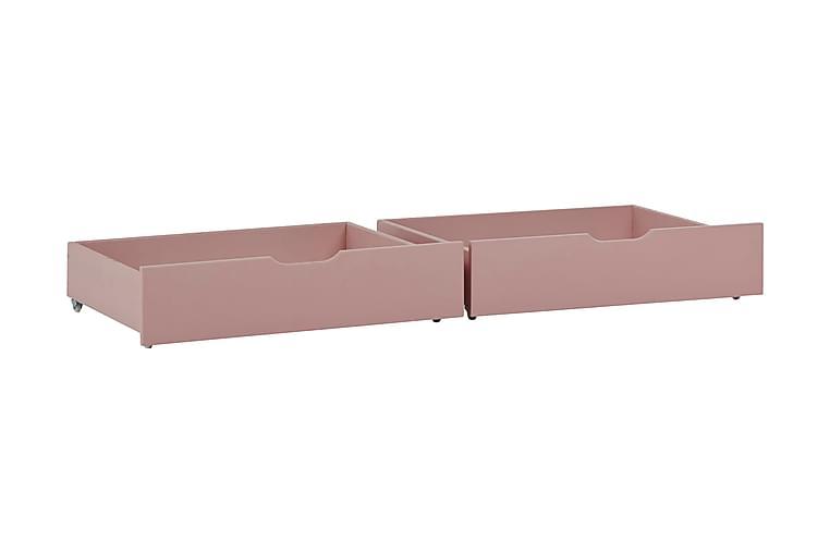Farhult Sengeskuff 153 cm - Rosa - Innredning - Innredning barnerom - Oppbevaring til barnerommet