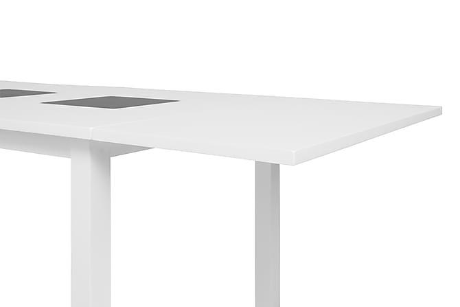 Jasmin Tilleggsplate 50 cm - Hvit - Møbler - Bord - Bordben & tilbehør