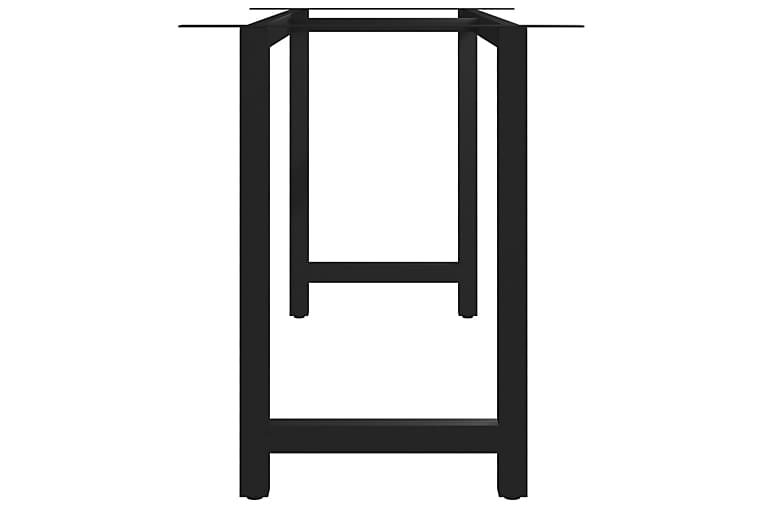 Spisebordben H-ramme 160x70x72 cm - Møbler - Bord - Bordben & tilbehør