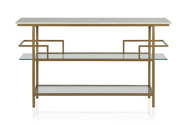 Barlow Konsollbord 137 cm Messing - CosmoLiving - Møbler - Bord - Konsollbord & avlastningsbord