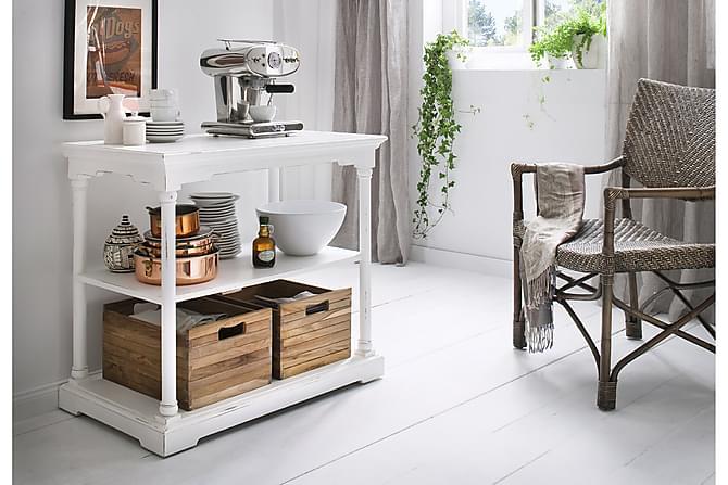 Helt nye Bordeaux kjøkkenoppbevaring 90 cm - Hvit | Trademax.no QN-07
