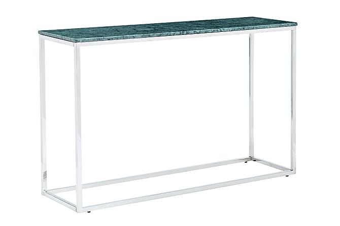 Carrie Avlastningsbord 120 cm - Grønn/Krom - Møbler - Bord - Marmorbord