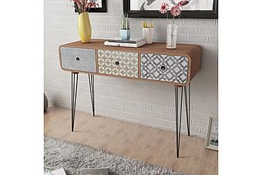 Shia Konsollbord med 3 Skuffer 99x35,5 cm