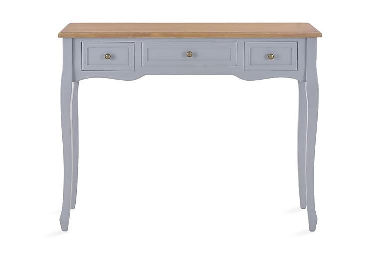 Konsollbord med 3 skuffer grå - Møbler - Bord - Konsollbord & avlastningsbord