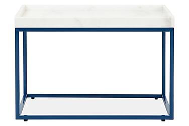 LUGO Sidebord 60 Hvit/Blå