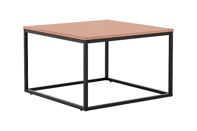 Carrie Sofabord 70 cm - Kobber/Svart - Møbler - Bord - Marmorbord
