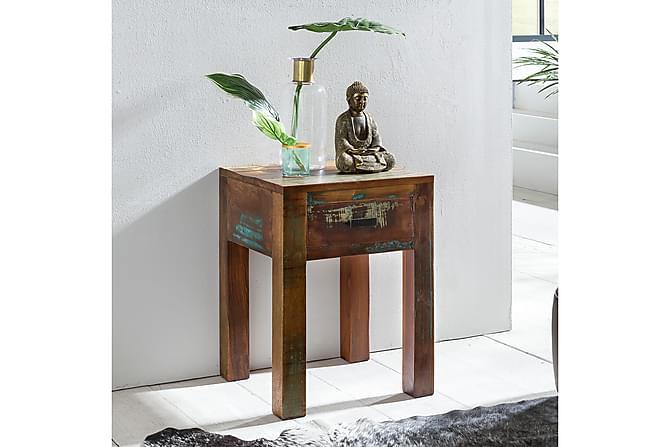 Haage Nattbord 40 cm - Flerfarget - Møbler - Bord - Marmorbord