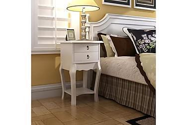 Dejlika Nattbord med 2 Skuffer 40x30 cm