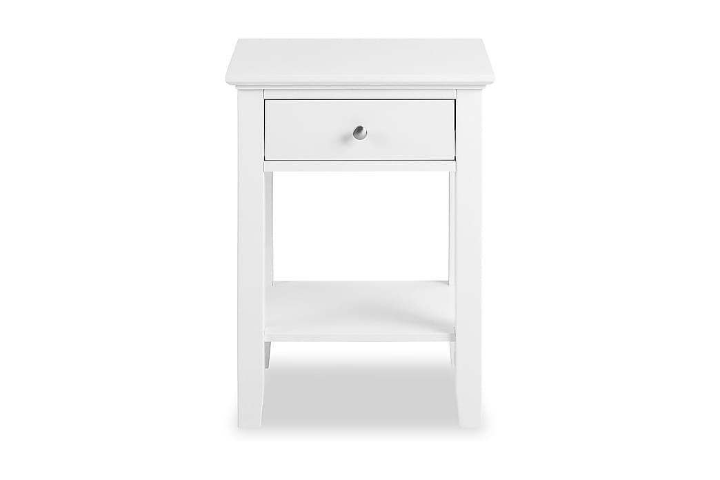 Joline Nattbord 1 Skuff Hvit - Møbler - Bord - Sengebord & nattbord