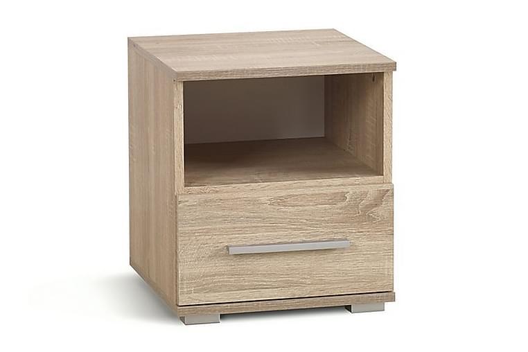 Lima Nattbord 1 Skuff - Eik - Møbler - Bord - Sengebord & nattbord