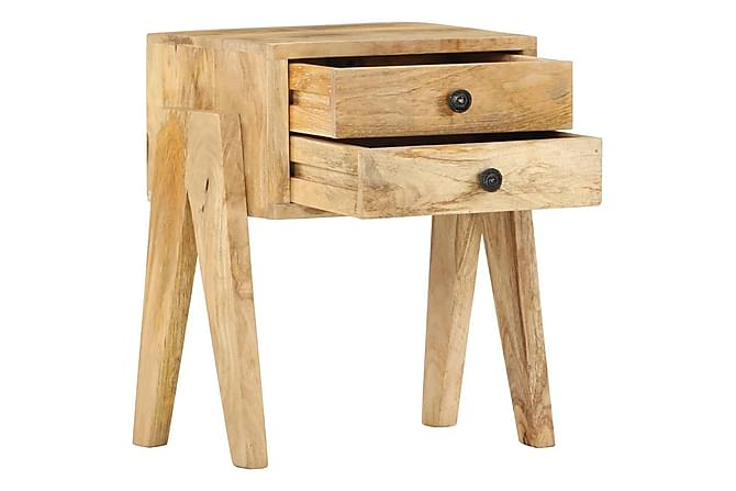 Nattbord 40x35x50 heltre mango - Møbler - Bord - Sengebord & nattbord