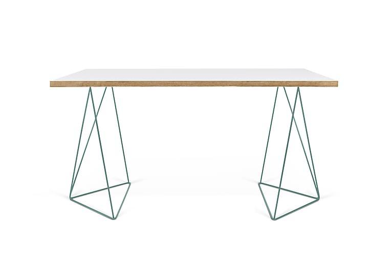 Boavista Skrivebord 140 cm - Hvit - Møbler - Bord - Skrivebord