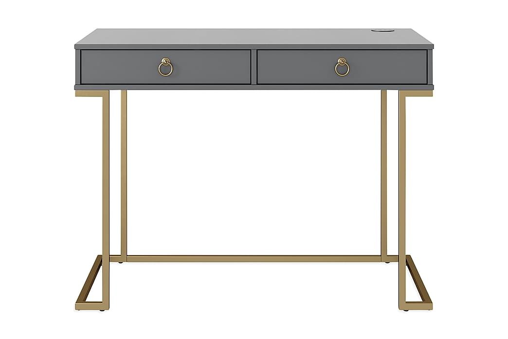 Camila Skrivebord 106 cm Grafittgrå - CosmoLiving - Møbler - Bord - Skrivebord