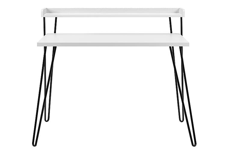 Haven Skrivebord 114 cm Hvit - Møbler - Bord - Skrivebord