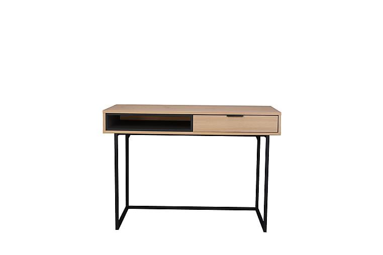 Lingu Skrivebord - Natur/Svart - Møbler - Bord - Skrivebord