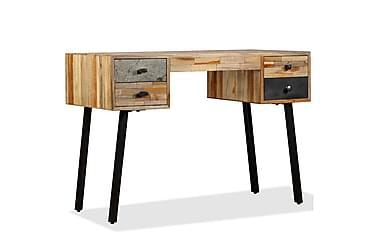 Skrivebord gjenvunnet heltre teak 110x50x76 cm