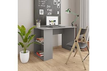 Skrivebord grå 110x60x73 cm sponplate
