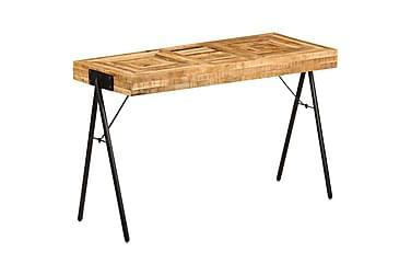 Skrivebord heltre mango 118x50x75 cm
