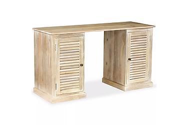 Skrivebord heltre mangotre 140x50x77 cm