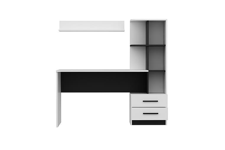 Study Desk Hvit|Svart - Møbler - Bord - Skrivebord