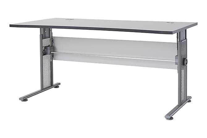 Xenia Skrivebord 160 cm - Lysegrå - Møbler - Bord - Skrivebord