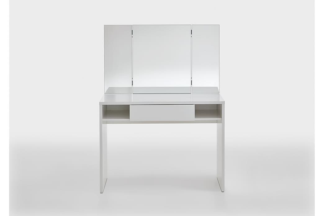 Ridell Sminkebord100 cm - Hvit - Møbler - Bord - Sminkebord & toalettbord