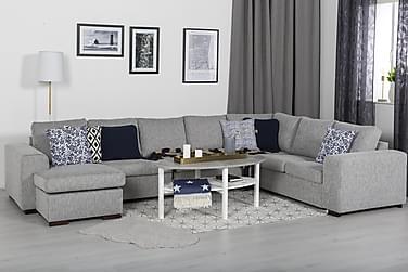 Ameli Sofabord 120 cm Ovalt