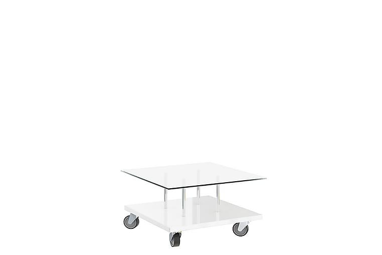 Ashingdon Sofabord 80 cm - Hvit - Møbler - Bord - Sofabord