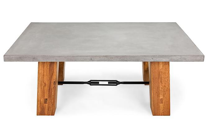 Boston Sofabord 120x80 cm - Betong/Eik - Møbler - Bord - Sofabord