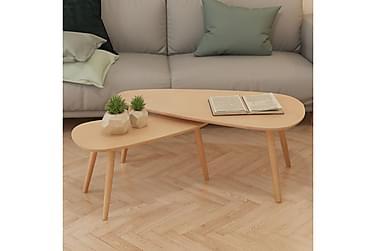 Boudry Sofabord 100x50/70x34,5 cm Sett med 2