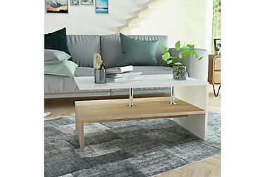 Bubikon Sofabord med Hylle 90x59 cm
