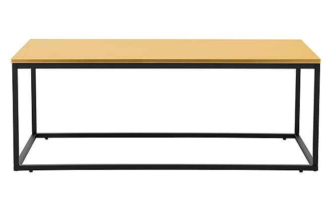 Carrie Sofabord 120 cm - Messing/Svart - Møbler - Bord - Sofabord