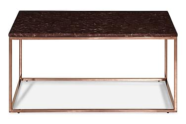 Carrie Sofabord 90 cm Marmor