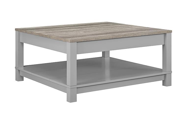 Carver Sofabord 90 cm Grå - Møbler - Bord - Sofabord