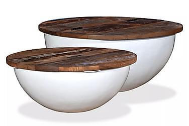 Chesrex Sofabord 60/50 cm Runde Sett med 2
